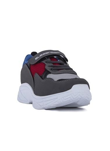 Slazenger Ally Erkek Çocuk Sneaker Ayakkabı Gri